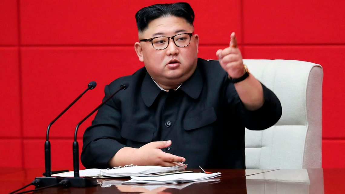 Kim Jung Un says North Korea must deliver 'telling blow' to those imposing sanctions