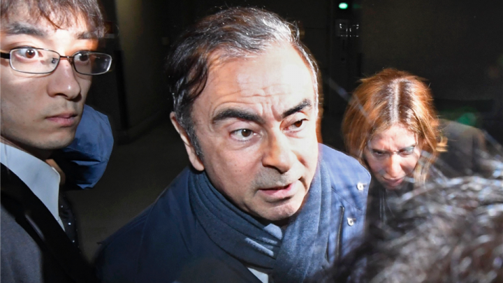 Japanese prosecutors bring in Nissan's ex-chair Ghosn