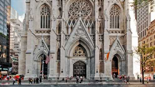 Man arrested after approaching historic St. Patrick's Cathedral with gas can