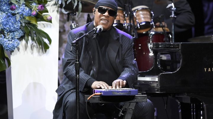 Stevie Wonder calls for better gun control during Nipsey Hussle's memorial service: 'It's unacceptable'
