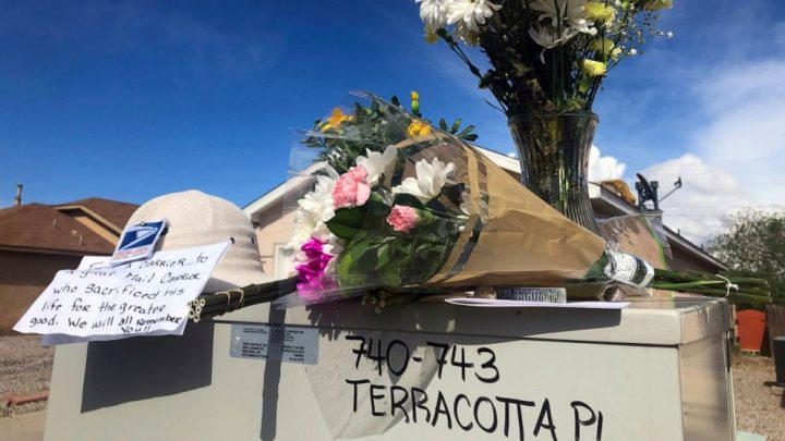 Teen arrested in killing of mail carrier in New Mexico