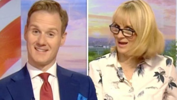 BBC News: Dan Walker SLAMS Louise Minchin over 'VILE' eating habit