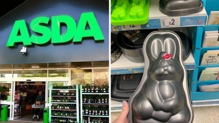 Asda is selling Easter baking trays for £2 – and they're adorable