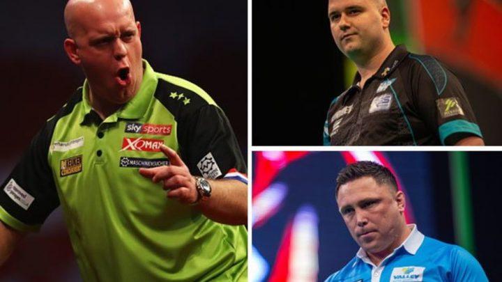 Premier League Darts results: Michael van Gerwen, Rob Cross and Gerwyn Price all win