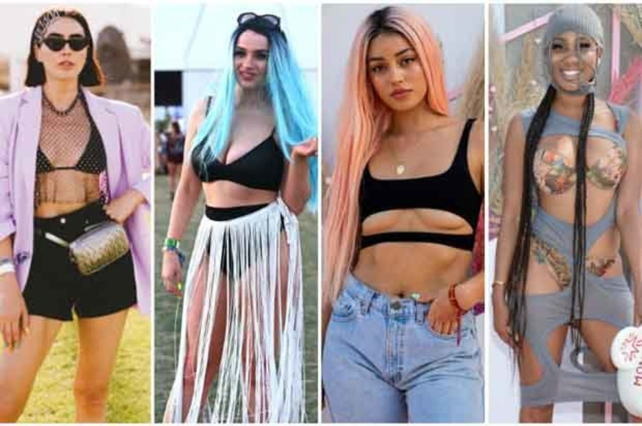 Sexiest Coachella festival fashion REVEALED: From underboob tops to chainmail trousers