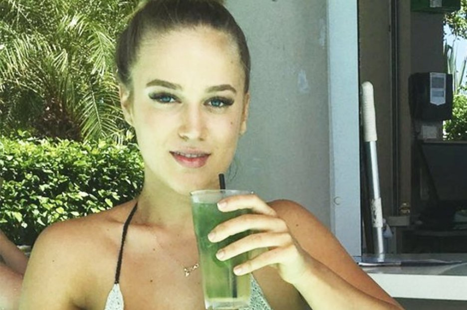 Neighbours newcomer Roxy Willis unleashes killer assets in crochet bikini