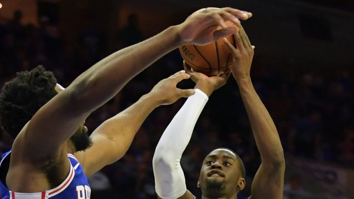 N.B.A. Playoffs: D'Angelo Russell Scores 26 in Nets' Game 1 Win Over 76ers