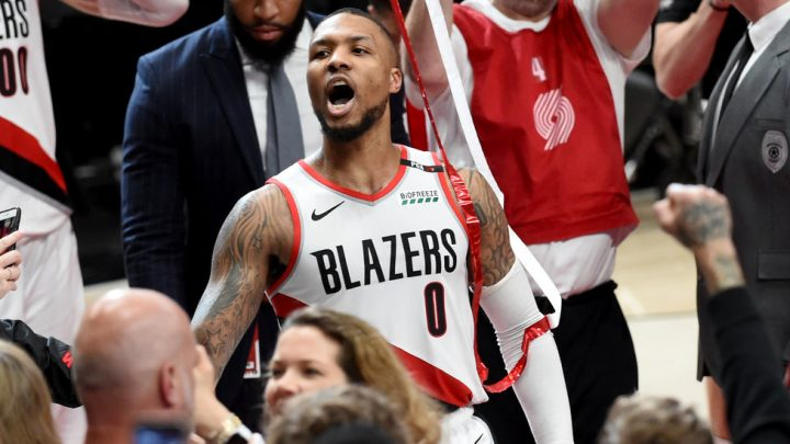 Damian Lillard From 37 Feet … and the Blazers Eliminate the Thunder