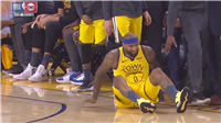 DeMarcus Cousins Limps Out Of Game With Non-Contact Leg Injury