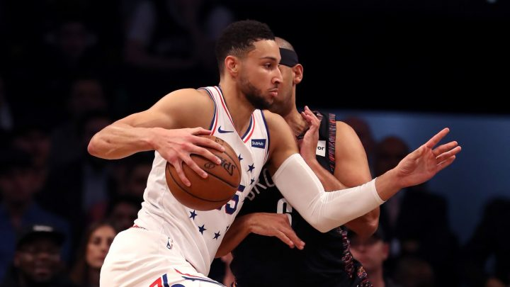 Ben Simmons Definitely Has The Energy For Jared Dudley