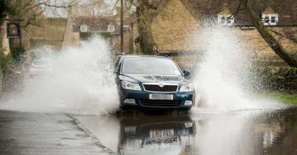 Met Office flood warning with half a month's worth of rain to fall in one hour
