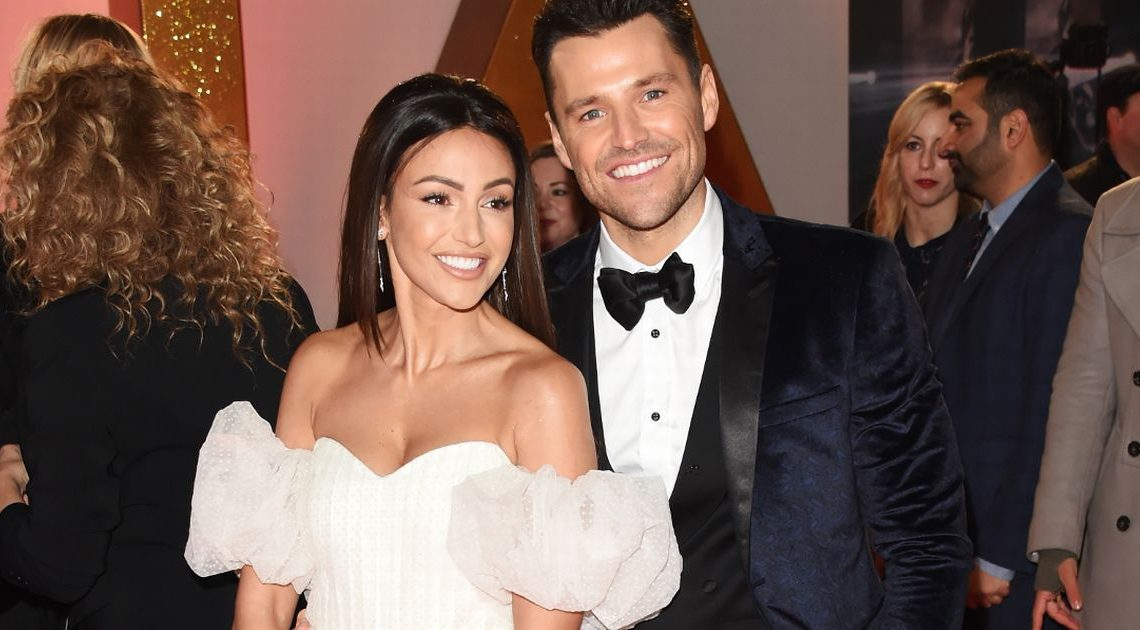 Michelle Keegan and Mark Wright celebrate four years of marriage apart
