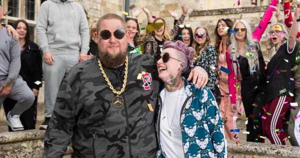Rag 'n' Bone Man marries Beth Rouy in quirky wedding tracksuits