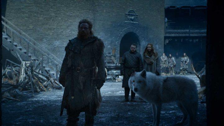 Jon Snow Didn't Even Pet Ghost Goodbye in Game of Thrones Tonight