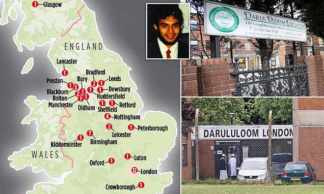 Extremist alert over 48 British Islamic schools teaching future imams