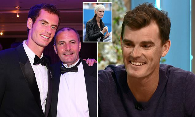 Andy Murray's DAD was key to his sons tennis career, say brother Jamie