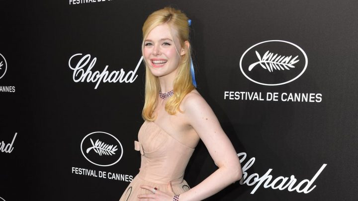 Elle Fanning Fainted at a Cannes Party Because of Her Dress, and We Feel Like Concerned Parents