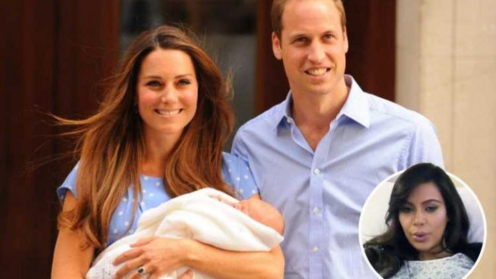 New mums feel 'pressure' to look like Kate Middleton and Kim Kardashian after birth and 77 per cent slap make-up on immediately after labour, new survey claims