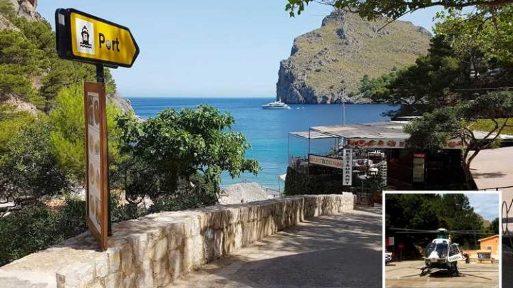 British toddler in hospital with serious head injuries after 23ft fall 'from mum's arms' at Majorca cliff beauty spot