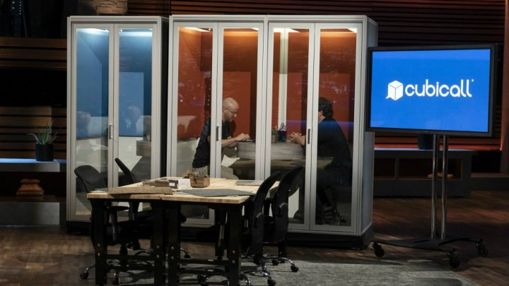 Cubicall on Shark Tank: Cubicles are getting some privacy with this phone booth design