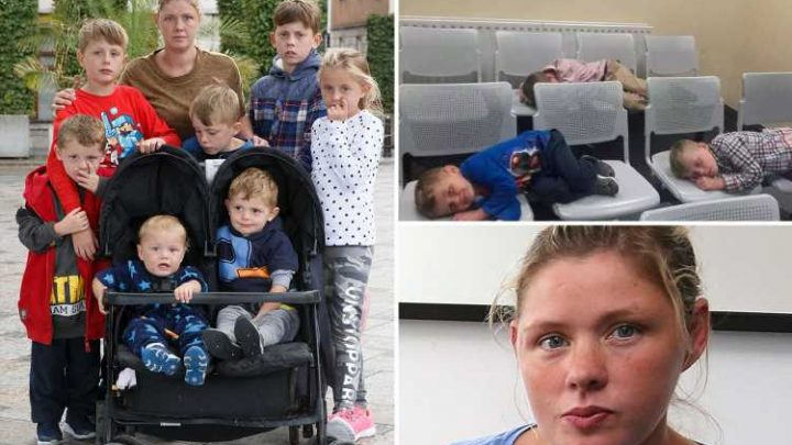 Traveller mum whose family had to sleep in police station when she was made homeless has moved into B&B and now spends FOUR hours a day taking kids to school