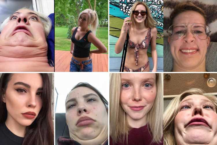 Women pull ugly faces in funny photo trend – and they're the perfect antidote to pouty, filtered selfies