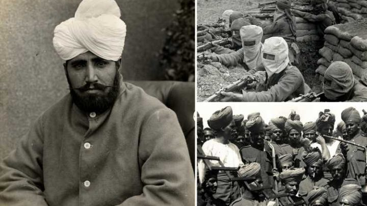 Incredible sacrifices made by 1.5 million 'forgotten' Indian soldiers during the First World War revealed in stunning 100-year-old pics