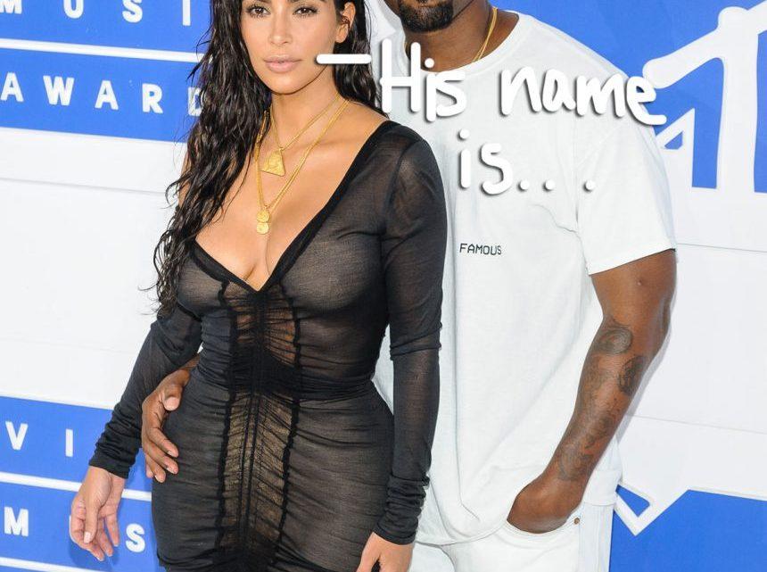 Kim Kardashian & Kanye West Announce Their Baby Boy's Name! It's…