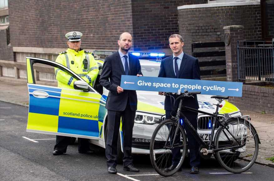 Driving too close to cyclists could land YOU with a £100 fine and criminal record