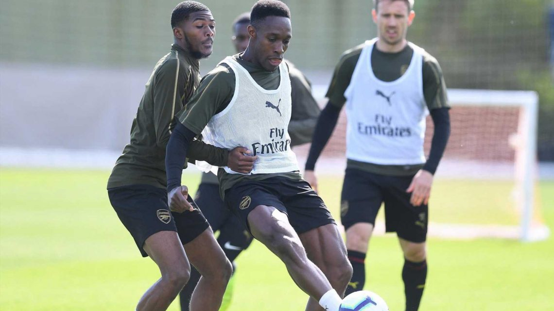 Danny Welbeck scores hat-trick in Arsenal friendly as striker pushes for last ever appearance in Europa League final after seven months out