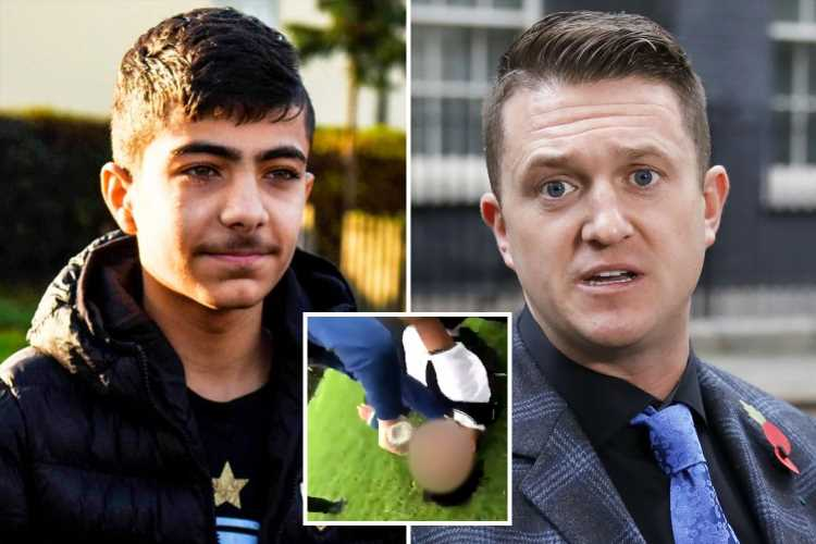 Syrian schoolboy sues Tommy Robinson for accusing him of attacking girls