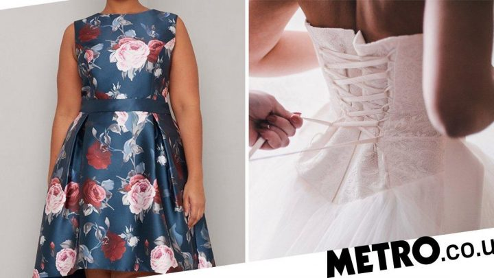 Woman thinks her dress will upstage bride, internet tells her it's 'horrible'