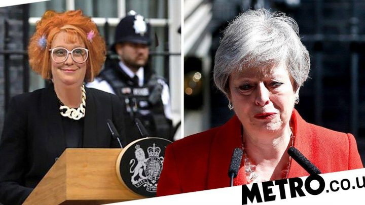 Kathy Burke volunteers as next PM as celebs react to Theresa May resignation