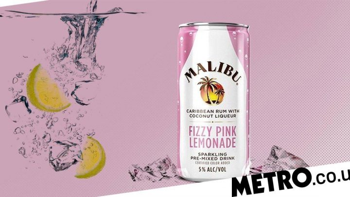 Malibu launches pink lemonade in a can made with rum and coconut liqueur