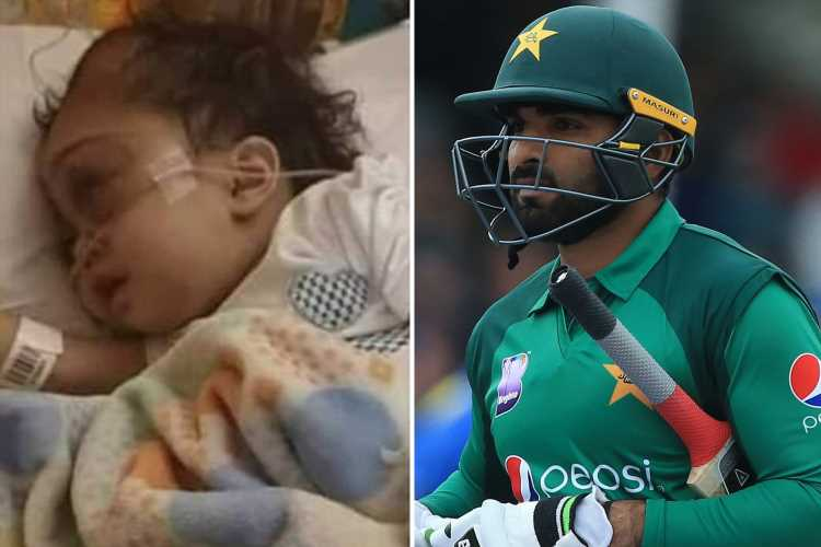 Pakistan star Asif Ali left devastated after daughter, two, dies of cancer in hospital just days before Cricket World Cup