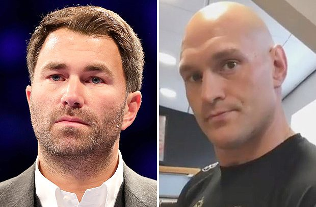 Tyson Fury was LYING about donating £7m Wilder purse to charity, says Hearn