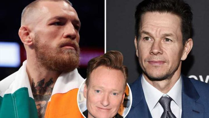 Conor McGregor accepts challenge to fight talk show host Conan O'Brien and wants Mark Wahlberg on the same night