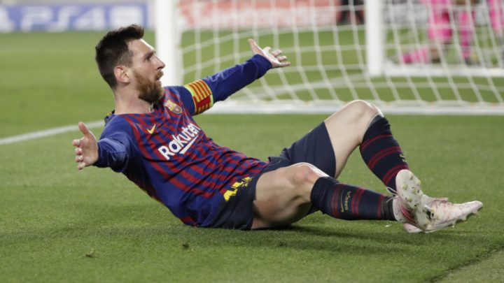 Magical Messi sets new milestone as clinical Barcelona rout Liverpool