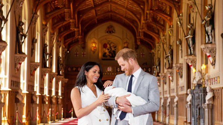 Proud Parents! Every Photo of Prince Harry and Meghan Markle with Snoozing Baby Sussex