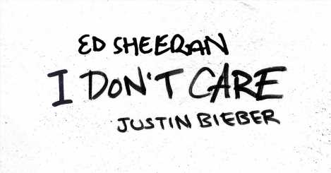 Listen to Justin Bieber & Ed Sheeran's New Song 'I Don't Care'