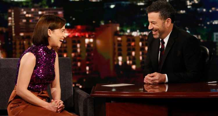 Emilia Clarke Tells 'Kimmel' That Episode 5 of 'Game of Thrones' Is 'Even Bigger' Than Battle of Winterfell