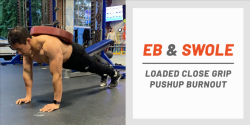 Burn Out Your Triceps With This Killer Pushup Finisher