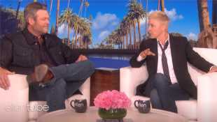 Ellen DeGeneres Gives Blake Shelton A Pre-Engagement Gift & Urges Gwen Stefani To Propose To Him