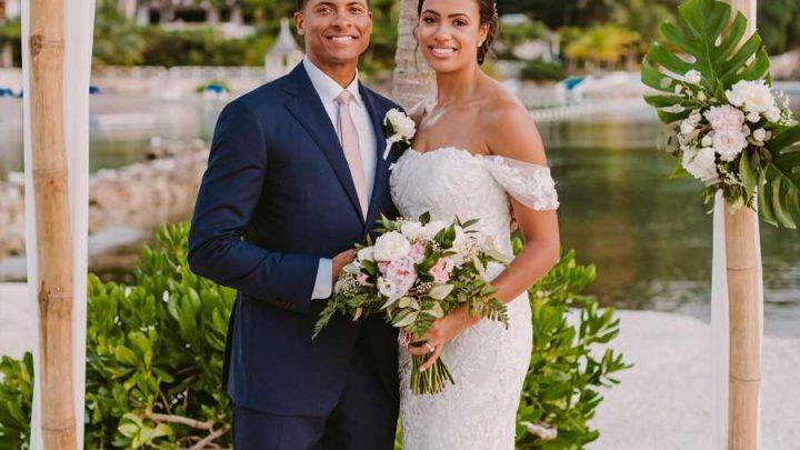 CBS News' Errol Barnett Marries Ariana Tolbert — See Photos from Their Stunning Jamaica Nuptials