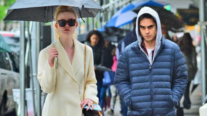 Elle Fanning Spent Her Weekend with Boyfriend Max Minghella!