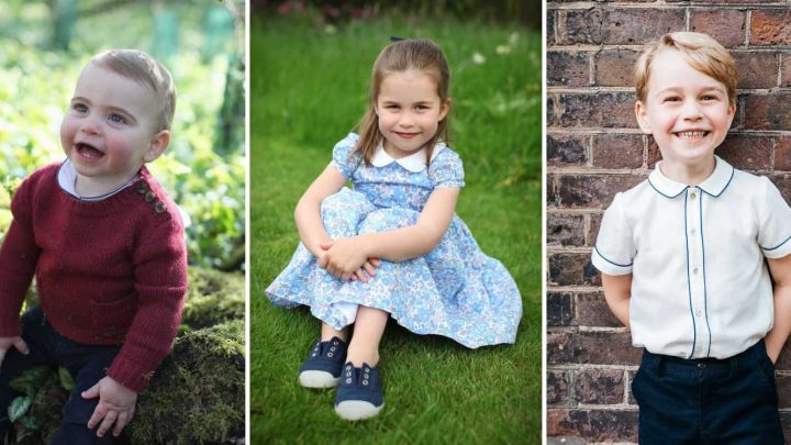 Princess Charlotte's Fourth Birthday Portraits Have So Much in Common with Prince Louis's Photos