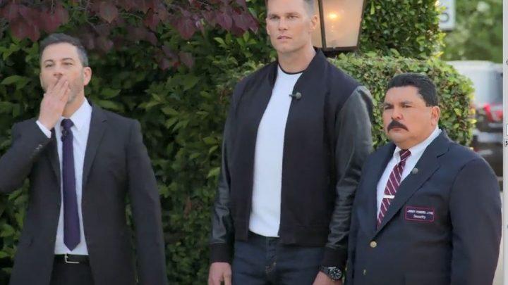 Jimmy Kimmel Enlists Tom Brady's Help In His Feud With Matt Damon