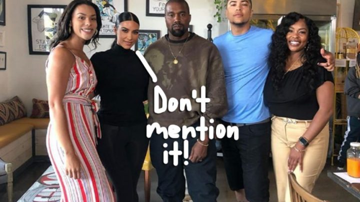 Kim Kardashian Visits Former Prison Inmate With Kanye West, Vows To Help Remove His Facial Tattoos!