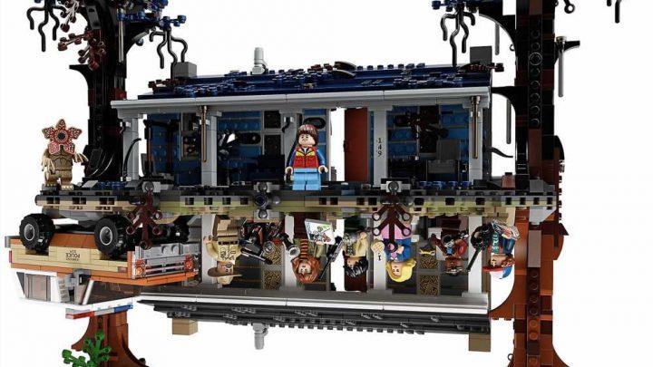Lego reveals 'Stranger Things' set that recreates the Upside Down