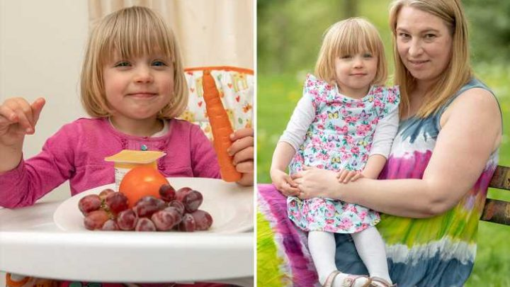 My fussy daughter would only eat sausage, beans and chocolate – but I changed that by learning to say NO